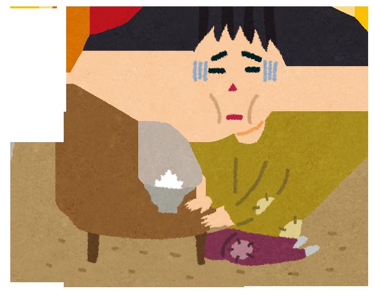 貧困・貧乏に陥りご飯もろくに食えない状態